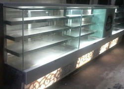 Rectangular Sweet Display Counter