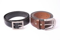 Non Branded Brown Leather Belt
