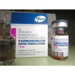 Farmorubicin Injection, Packaging Type: Glass Bottle, Box, for Personal