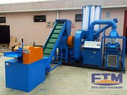 Mild Steel Cable Recycling Plant, Production Capacity: 500-600 kg/shift, 5000