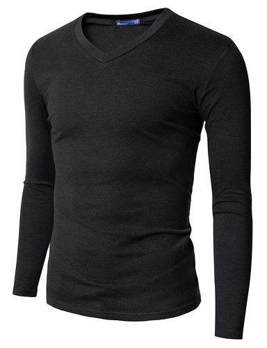 c4974bd4b4ba Men s Full Sleeve V Neck T-Shirt at Rs 125  piece
