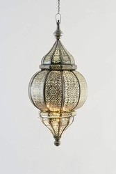 Iron, Glass Metal Lantern, for Home
