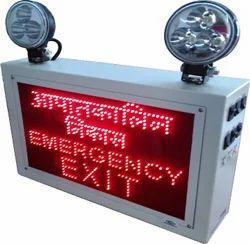 Industrial Emergency Light-EM EXLED 2 lang