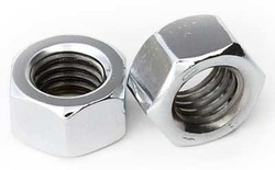 Female Hexagonal Steel Nuts, For Hardware Fitting