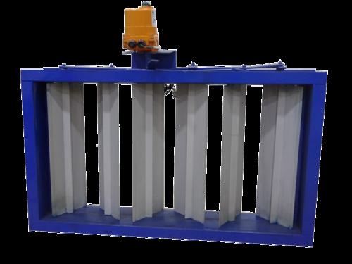 Air Damper Pneumatically Operated Multi Louver Damper