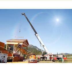 Hydraulic Mobile Crane Rental Services