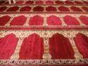 Red Al Ansar Carpet Mosque Carpet, Size: 4x100 Feet