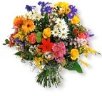 Happy Blooms Basket