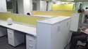 Rectangular Aluminium 45mm Modular Partition, For Office Corporate Use