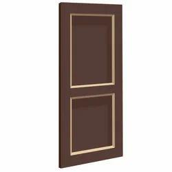 Brown Panel PVC Door