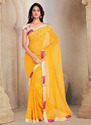 Plain Casual Saree