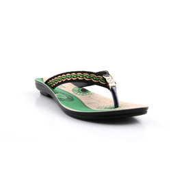 PU Broad Strap Ladies Slipper
