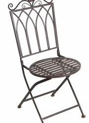Iron folded chair