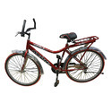 Iron Red Avon Sunami Bicycle, Foam Padded With Backrest And Bell