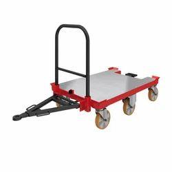 FRP Three-Wheel Mechanical Trolley, For Shopping