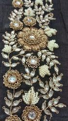 Zardozi embroidery work in mumbai for Glass cut work designs