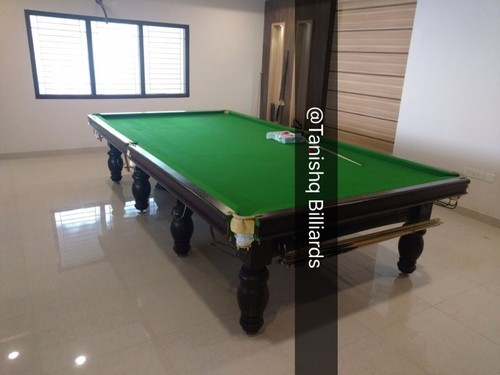 Solid Wood Italian Slates Billiards Pool Table Rs Set ID - Italian pool table
