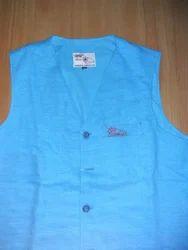 Khadi V Neck Design Jacket