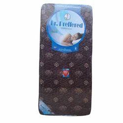 Dr. Prefered Printed Brown EPE Foam Mattress, Size/Dimension: 6x4 Feet