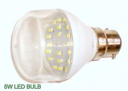 9W, 5w LED Bulb Lamp Light with Transparent Glass