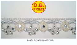 Fancy Diamond Cutwork Lace