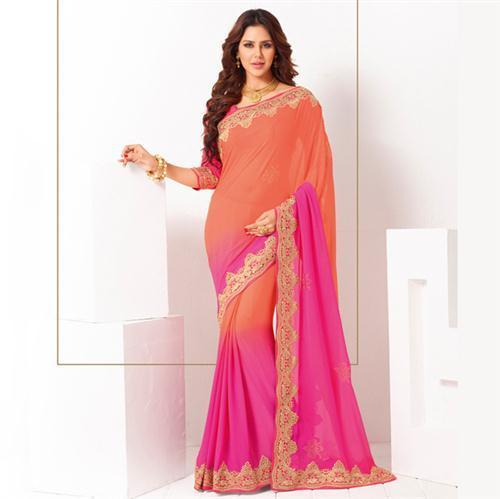 48ac2a8f23 Party Wear Designer Bandhani Saree, Rs 5268 /piece, Surya Silks ...