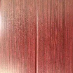 Great Wall Marron Wooden PVC Panel, Size: Running Feet