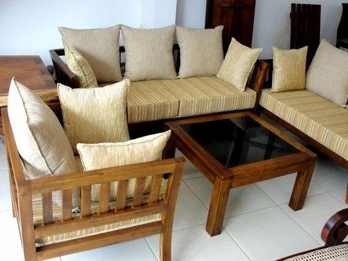 Wooden Sofa Set At Rs 55000 /set