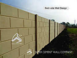 Folding Boundary Compound Wall