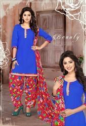 Patiyala Special Cotten Printed Dress