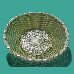 Round Metal Basket