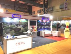 Portable Exhibition Kit Bangalore : Exhibition booth fabricator exhibition stall designer