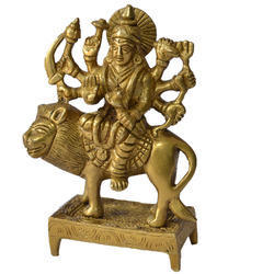 Golden (Gold Plated) Astha Dhatu Maa Durga