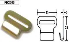 FH2505 Pressed Steel Hooks