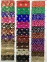 Banarasi Jacquard Fabric Gold