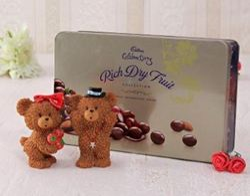 Cute Bear With Cadbury Celebrations
