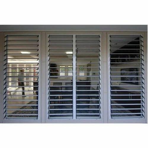 Standard Upvc Louvered Window Rs 450 Square Feet Dg