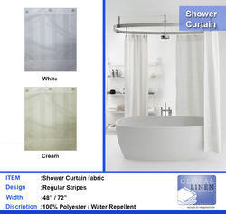 Bathroom Shower Curtains -Hotels