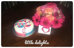cake delivery flower delivery