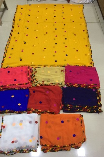 Embroidery Work Dupatta