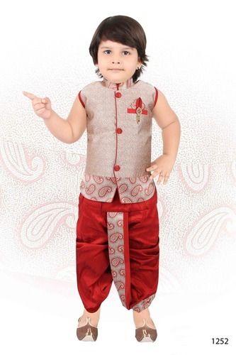 3cc64efec31f Small Boys Dhoti Jacket at Rs 675 /piece | Children Dhoti Kurta ...