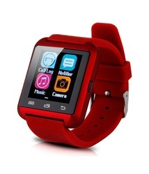 A7 Red Bluetooth Smart Watch