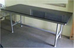 Granite Top Plain Dining Table