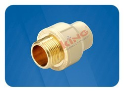 CPVC Brass Male Thread Adapter