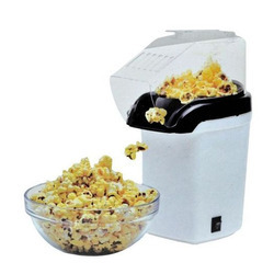White Automatic POP Corn Maker, For Home, 100.0 Grams Per Batch