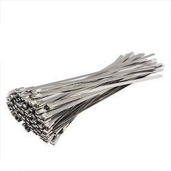 Stainless Steel Cable Ties 4.6mm width x 100mm