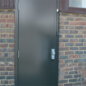 Indigatech Polished Hollow Metal Door, Size/dimension: 1.2x2.1m