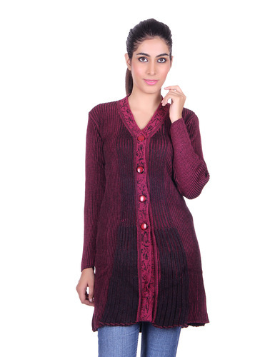 Winter Woollen Women Long Shrug, Ladies Ka Shrug, Women Shrug ...