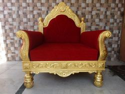 Gold Leafing Royal Chair