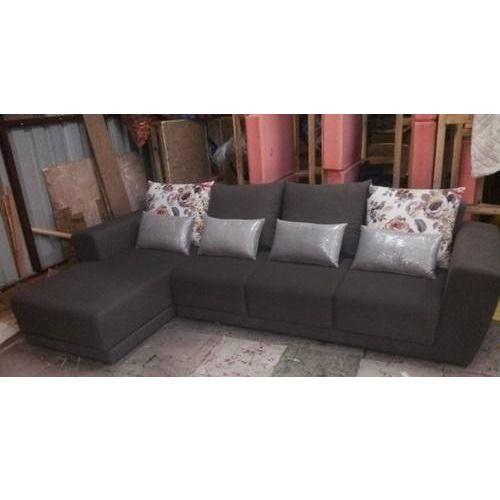 Single Wooden Designer Sofa Set